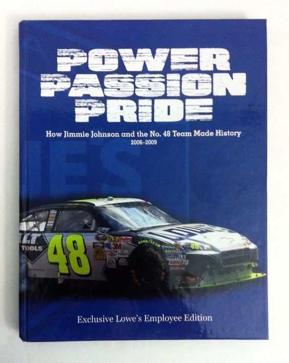 Power Passion Pride Jimmie Johnson No. 48 Lowes Employee Edition With DVD
