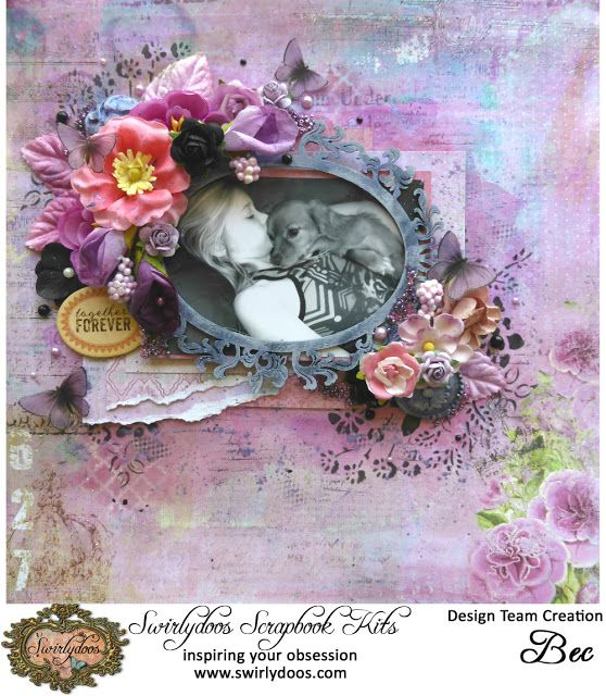 Swirlydoos Scrapbook Kit Club January 2016 Kit Vineyard - Bec Genet: