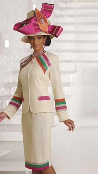 Donna Vinci Knits 13118 Women Church Suits
