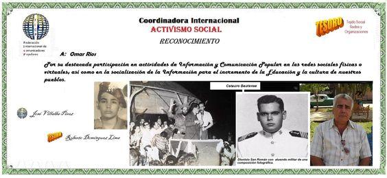 FICP. Omar Ríos. Activismo Social.