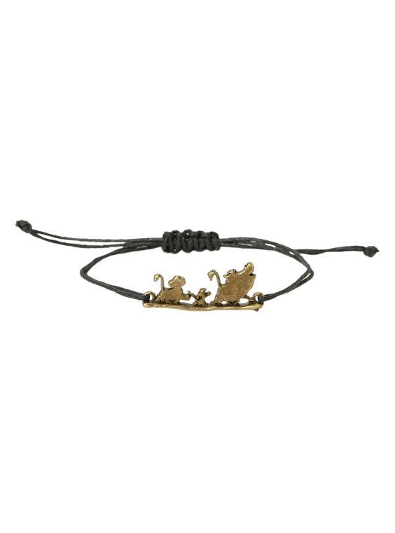 Disney The Lion King Hakuna Matata Cord Bracelet | Hot Topic