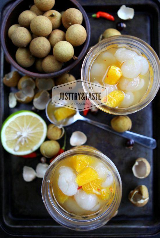 Asinan Kelengkeng Jeruk Longan In Sweet And Sour Water Resep Makanan Ringan Manis Makanan