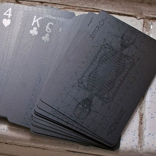 Black Playing Cards By Balance Wu Design Outshit Style