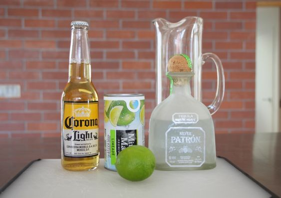 Beer Margaritas. Use 1 can of Minute Maid Frozen Limeade {pour in pitcher}. Refill the empty can with Tequilla {pour in pitcher}.  Use 1 Corona Light Beer {pour in pitcher}. Slice up a few limes and squeeze. Stir and serve with ice and optional salted rim. Cheers!