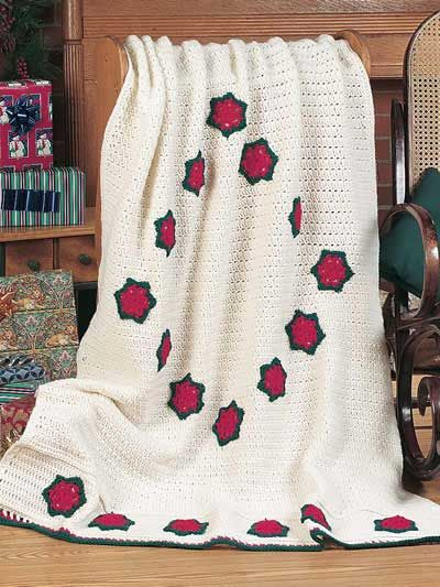 Fantastic Crochet Christmas Afghan Patterns Image Sewing Ideas