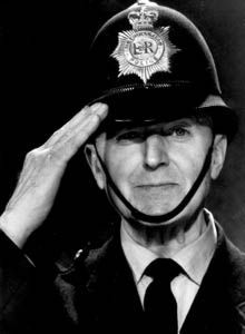 Dixon of Dock Green - A true Bobby. Beginning in 1955 and finally ending in 1976, Dixon of Dock Green was a popular series whose main character is still often used as a symbol of policing in Britain