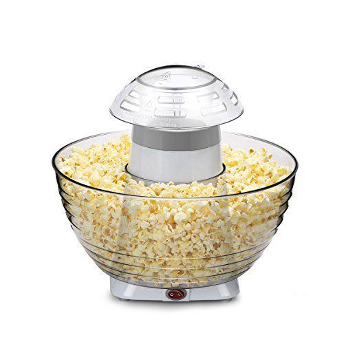 White Electric Hot Air Popcorn machine à pop-corn Making Popping Popper machine
