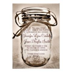 Rustic Country Wedding Invitations - Country Style Wedding ...