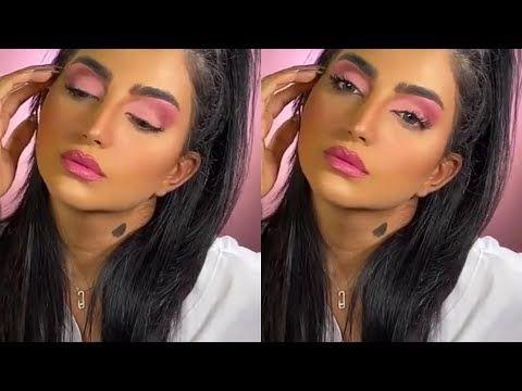 مكياج بتدرجات اللون الوردي للعيون الناعسة سناب بثينة الرئيسي Youtube Make Up Makeup Artist Artist
