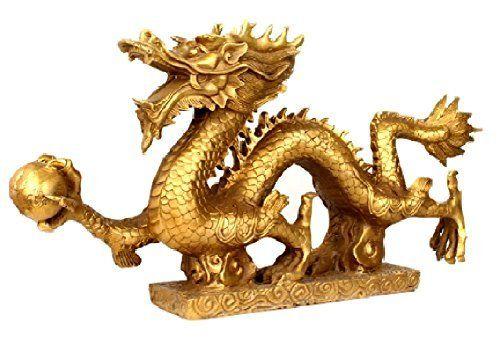 Sculpture: Feng Shui Dragon Of Five Nails Figurines / The Most Powerful Feng Shui Goods Brass Bronze Statue Sculpture