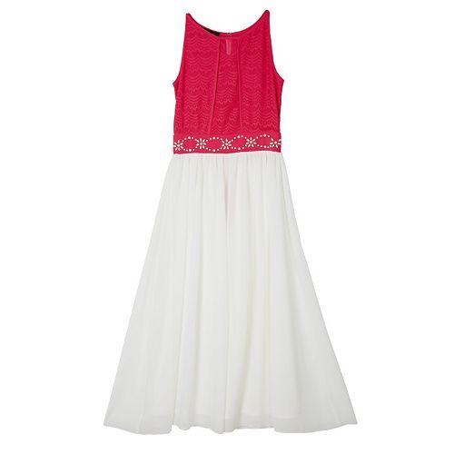Girls 7-16 IZ Amy Byer Embellished Maxi Dress