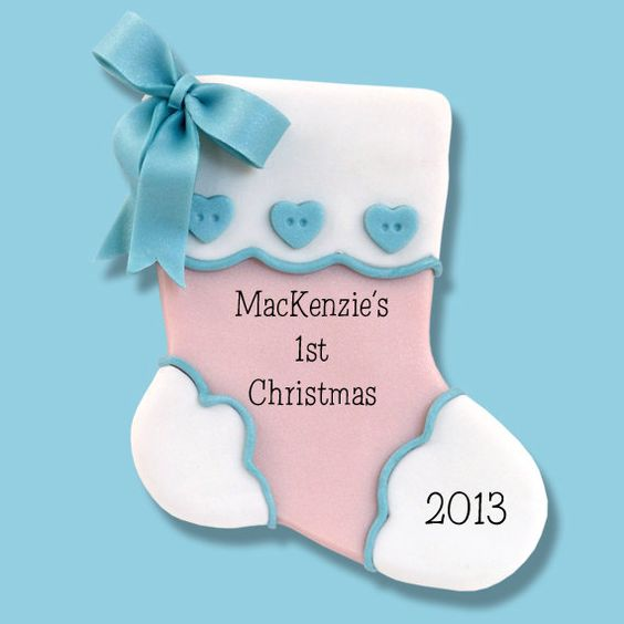 Babies first christmas, First christmas and Personalized baby on