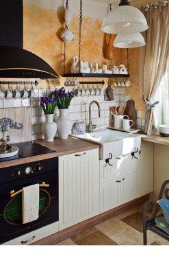 Otevřená kuchyň v malém prostoru