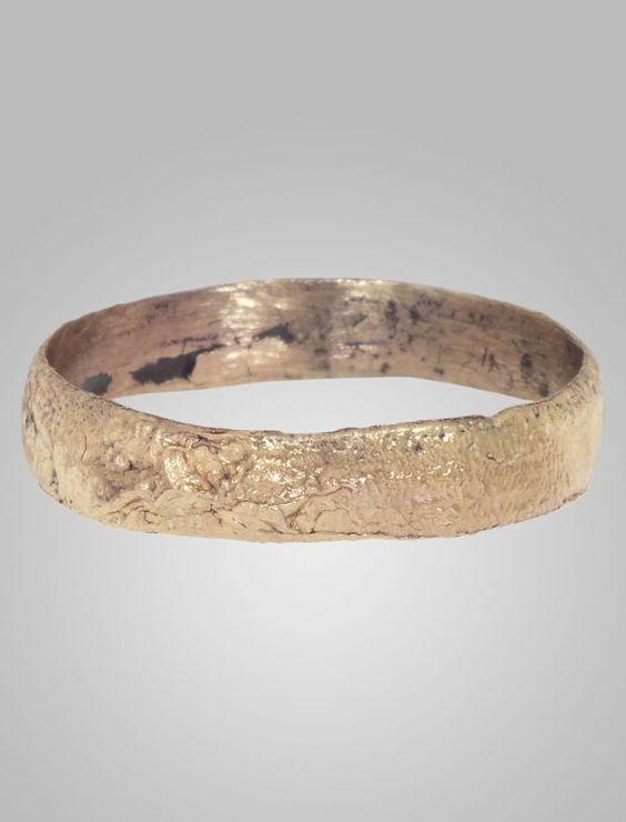 Ancient Viking Mans Wedding Ring York UK by AncientAdornment
