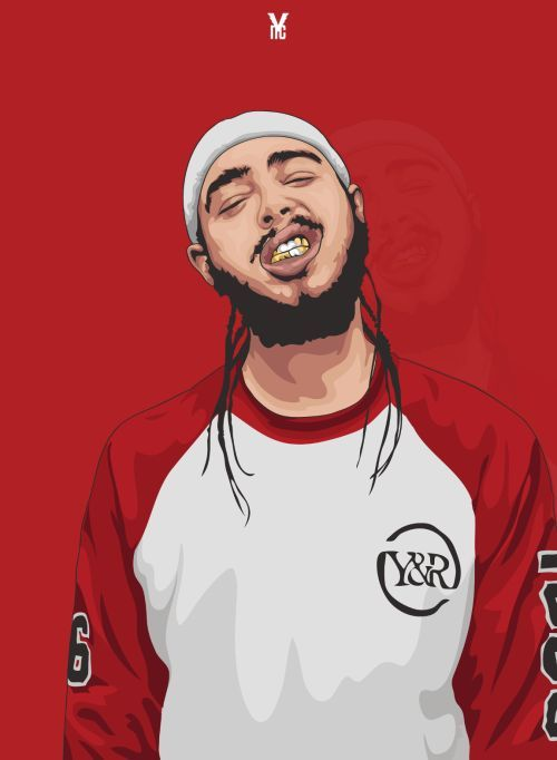 Hey You Post Malone Wallpaper Post Malone Trill Art