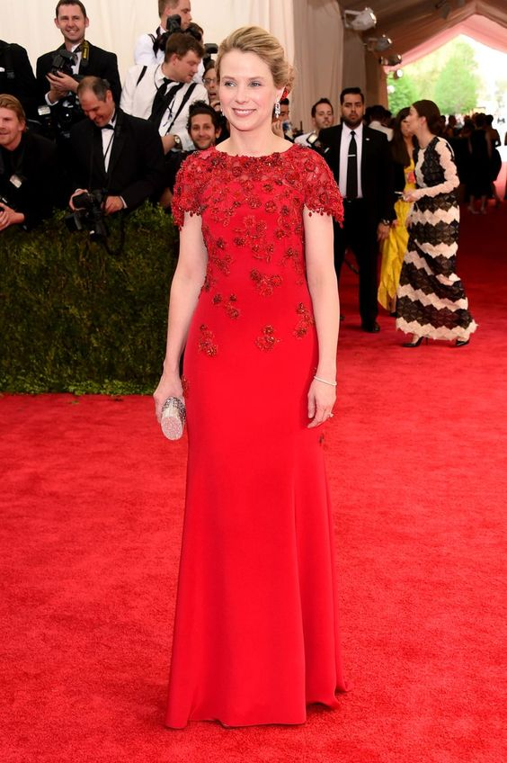 Pin for Later: Seht alle Stars bei der Met Gala Marissa Mayer