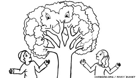 tu b shvat coloring pages - photo#25