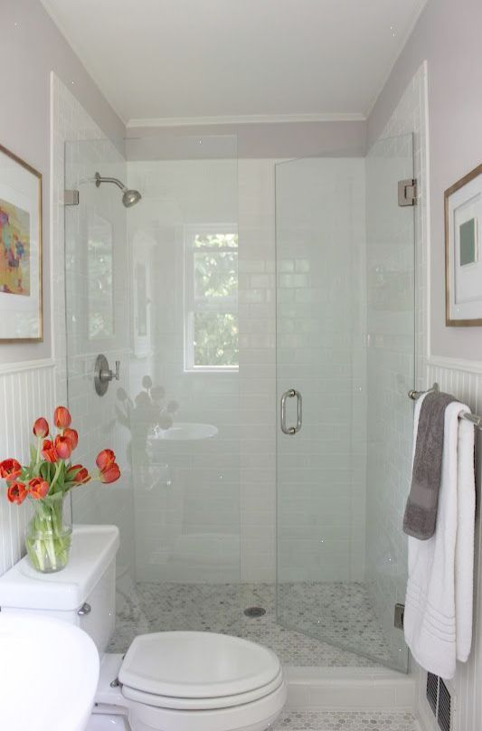 Idea For Master Bath Redo Love The Shower Door Opening Into Shower Small Bathroom Remodel Bathroom Remodel Shower Master Bathroom Makeover