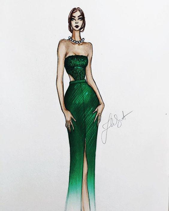 • • • • #fashionillustration #fashionillustrator #fashionsketch #illustration #illustrator #drawing #sketch #streetstyle #beauty #model #details #eyes #lips #stockholm #face #h&m #metgala #haileesteinfeld @haileesteinfeld @hm