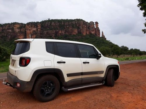 Jeep Renegade Pcd 2019 Branco Sujo Jeep Renegade Jeep Suv