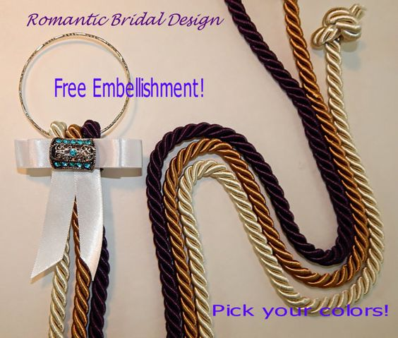 Marriage Braid Cord of Three Strands Rope by RomanticBridalDesign