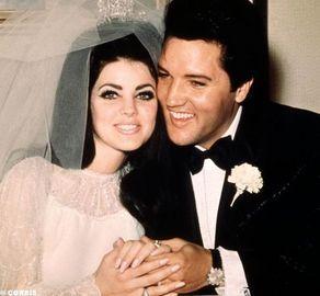Elvis Presley and Priscilla Presley  via rottentomatoes.com/quiz/famous-couples