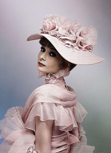 Audrey Hepburn in My Fair Lady. Beautiful.