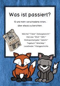 Deutsch: Die gleiche Gechcihte auf zwölf verschiedene Arten erzählt.