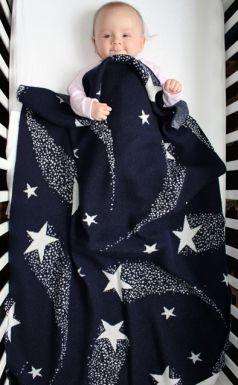 twinkle star cashmere blanket