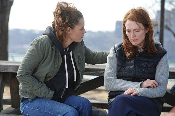 Julianne Moore comparte escenas con Kristen en 'Still Alice'