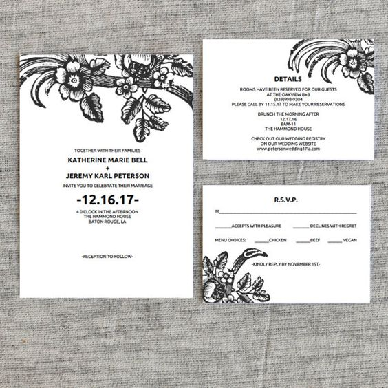 Wedding invitation template vintage inspired floral wedding wedding invitation template vintage inspired floral wedding invitation wedding printable wedding invite template pdf instant download pinterest stopboris Images