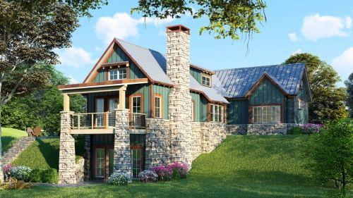 Rustic House Plan Men 5025 Adirondack Place Rustic House Plans Craftsman Style House Plans House Plans