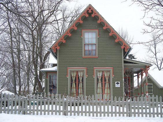 Ohio Gingerbread And Gothic On Pinterest