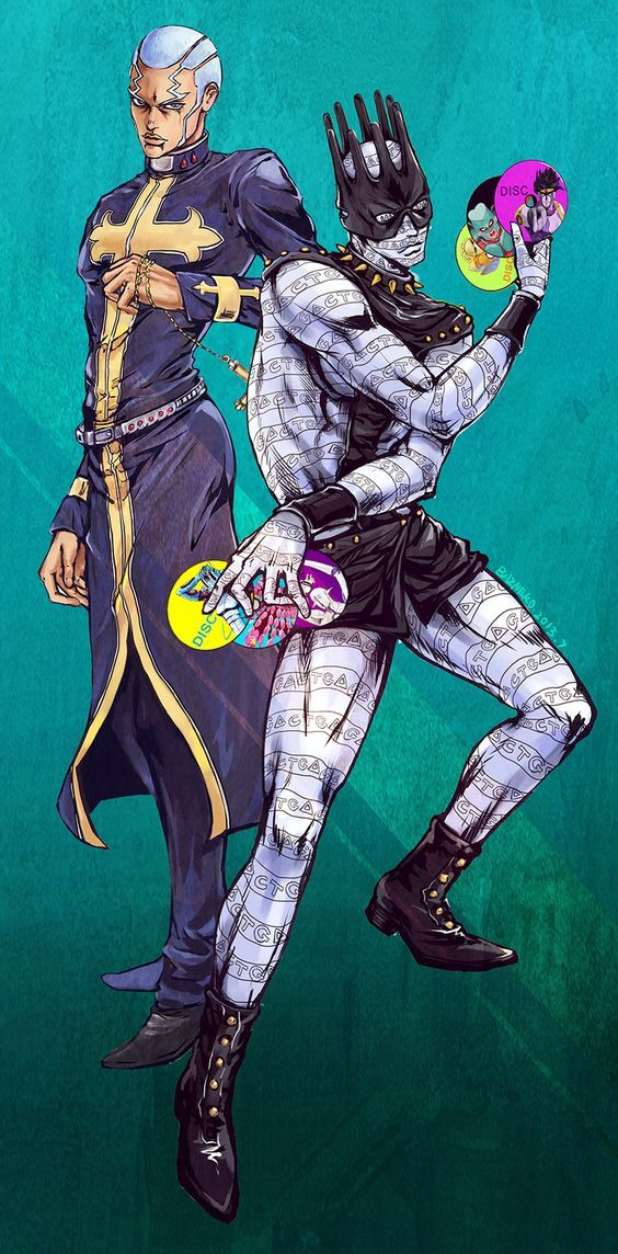 Jojo S Bizarre Adventure Pucci Whitesnake Full Body Jojosbizarreadventure Anime Cosp Jojo S Bizarre Adventure Stands Jojo Bizarre Jojo S Bizarre Adventure