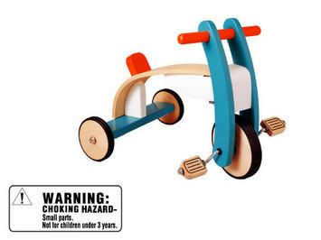 Plan Toys Wooden Tricycle...