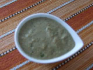 Chocolate     e       Caju: Dourada ao sal e salada de batata com molho de ame...