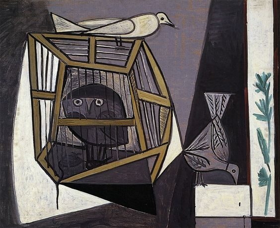 Pablo-Picasso_Cage-avec-chouette_1947.jpg (860×700)