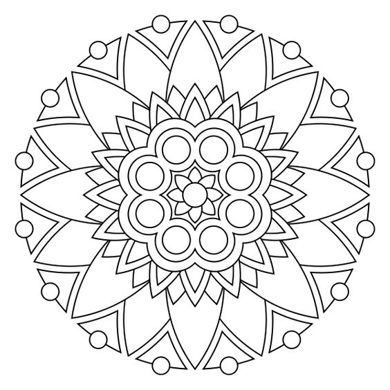 google images mandala coloring pages - photo#22