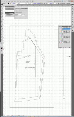 Using Adobe Illustrator for flat pattern drafting | Tien Chiu