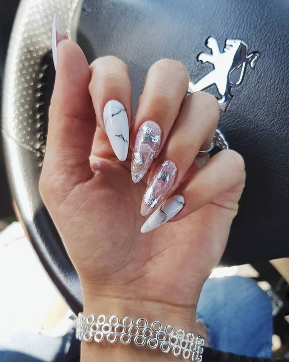 62 Long Nail Design For Women To Look Perfect Page 22 Of 62 Seshell Blog Longnails 62 Long Nail Design For Women In 2020 Long Nail Designs Long Nails Nail Designs