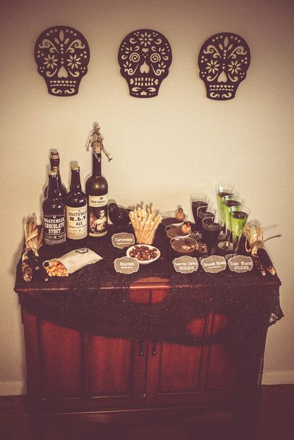 Elegant Spooky Adult Halloween Party Halloween Party