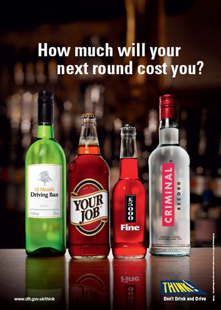 How much will your next round cost you? #DontDrinkAndDrive #Alcohol #RoadSafety: