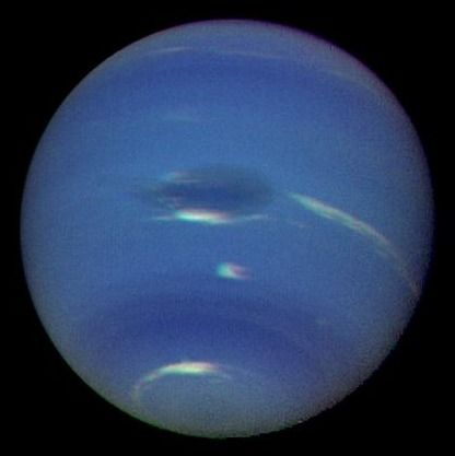 Planet Neptune: Solar System, Creation Cosmos, Neptune Probe, Neptunelargeblueball Jpg 416, Planet Neptune, Probe Image