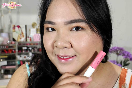 Ombre Lips - Wardah Cheek And  Liptint Shade 03 - Pink On Point