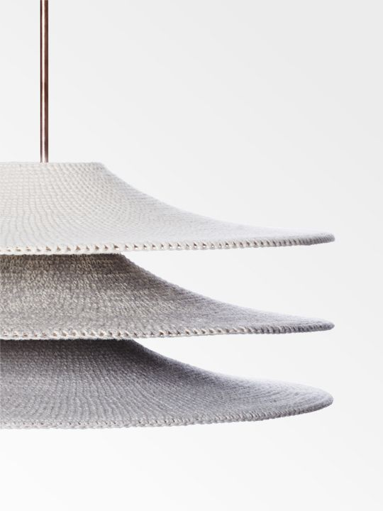 WOOL LIGHT by NAOMI PAUL favorited by LIGHTBOX AMSTERDAM: