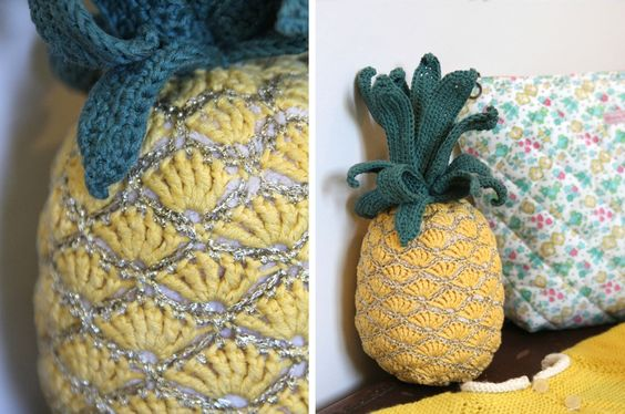Le tuto de l'ananas au crochet !