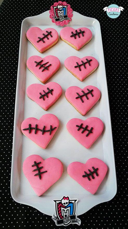Cookies de Monster High