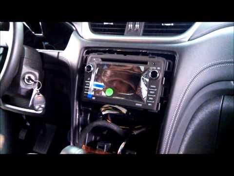 How To Install Mylink In Chevrolet Traverse Youtube Chevrolet