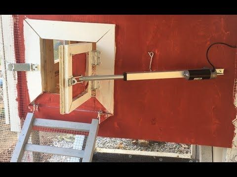 Pullet Shut Automatic Chicken Coop Door Morning Opening Youtube