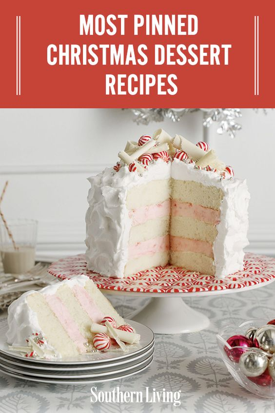 Most Pinned Christmas Dessert Recipes